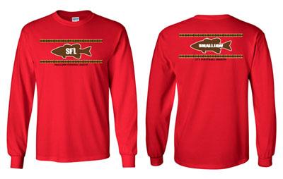 Apparel page for Jawbone fishing shirts